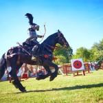 lukostřelba na koni štvanci